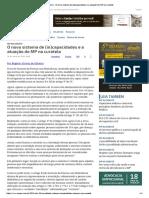 ConJur - O Novo Sistema de (in)Capacidades e a Atuação Do MP Na Curatela