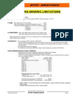 B737-Generic Limitations (NG)