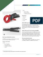 A621 A622 Current Probes Datasheet