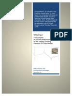Acoustic Resonators White Paper 2015