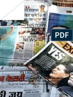 History of Newspaper