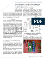 Electric Line Man Safety Using Microcontroller with GSM Module