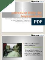 Introduce Italy- By Impresaitalia