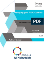 Managing Your FIDIC Contract