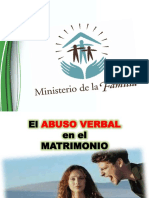 Abuso Verbal EN EL MATRIMONIO