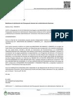 Decisión Administrativa 886/2016