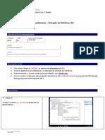 Procedimento - Ativação Do Windows 10