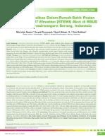 06_238Prediktor Mortalitas Dalam Rumah Sakit Pasien Infark Miokard ST Elevation-STEMI-Akut Di RSUD Serang Banten