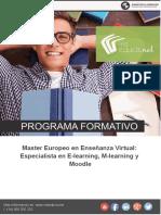 Master Europeo en Enseñanza Virtual