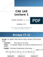 01 Array Arraylist