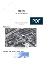 Renderings and Floor Plan for a Proposed 97-room hotel, 7-15-16