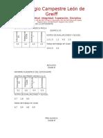 Informe Academico de La Estudiante
