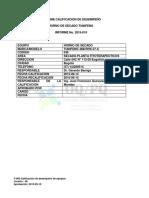Informe 2015-019 Horno