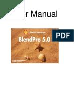 BlendPro Manual 505