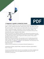 A Beginner Guide to Robot Application