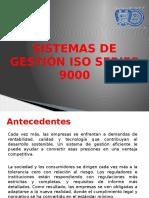 Calidad y Productividad U4 Sistemas de Gestión ISO Series 9000