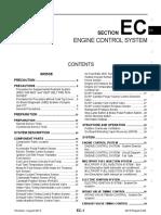 Ec Engine Control System