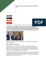 El PRI Es La Tercera Fuerza Electoral en Veracruz