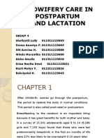 MIDWIFERY CARE IN POSTPARTUM  AND LACTATION