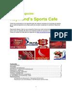 Plan de Negocios Sports Cafe Spanish (Ejemplo)