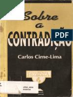 Sobre a Contradição - Carlos Cirne-Lima