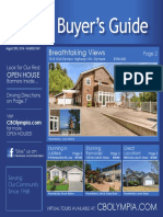 Coldwell Banker Olympia Real Estate Buyers Guide August 20th 2016