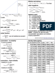 Concentration Cheat Sheet