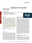 Cholesterol metabolism and homeostasis in the brain