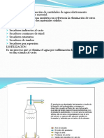 Proceso industrial de secado