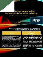 Derecho Comparado Sobre Legislación de Servicios Públicos