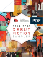 Fall 2016 Debut Fiction Sampler