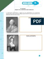 Personajes de la Revolución Francesa 8°