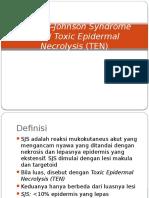 PPT Stevens-Johnson Syndrome (SJS)