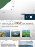 PERU Y SUS CLIMAS