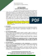 Edital de licitação Convite 006 Serviço de Manutenção Ar Condicionado
