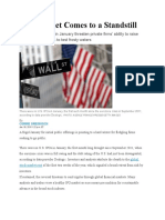 WSJ Article - IPO Market Comes to a Standstill - 2.3.16.docx