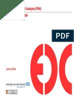 Prospective Hazard Analysis James Ward