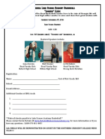 Lake Oconee Basketball Coaches Clinic Brochure