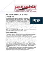 Textos Edictos-milan y Tesalonica