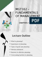 Mgt162 - 2 Planning Dec 2015