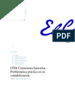 CFDi Comisiones bancarias - Problemática práctica en su contabilización. _ El Conta punto com.html.pdf