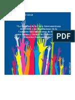 La Doctrina de la Corte Interamericana de DDHH, y las Resoluciones de la Comisión Interamericana de DDHH, como fuentes y formas de protección de los Derechos FundamentalesDoctrinaDDHH