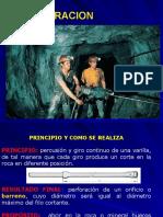 La Perforacion en minería