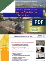 Grupo Trabajo CRUE-TIC Gestion Servicios Experiencia UPO-2