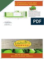 Wellspring Harvest Brochur