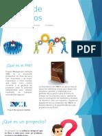 Gestión de Proyectos diapositiva