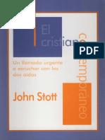 El cristiano contemporáneo - John Stott.pdf