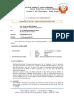 Inf 82 - Inspección Tecnica de La Av. Las Gardenias y La Av. La Amistad