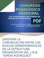 Congreso Pedagógico Municipal