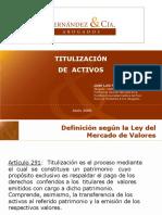 Procesos de Titulizacon de Activos- Hernandez